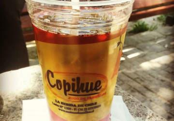 Copihue, el mejor lugar para refrescarse con un vaso de mote con huesillos