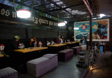 En Barbudo Beer Garden la cerveza se toma y se come