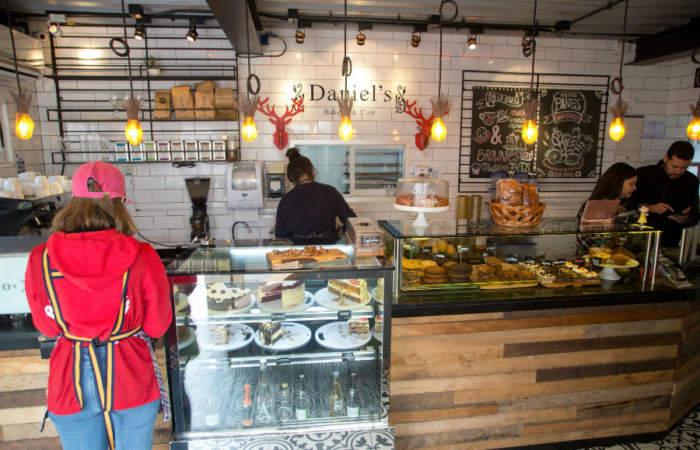 Daniel's Bakery, el café más gringo de Santiago