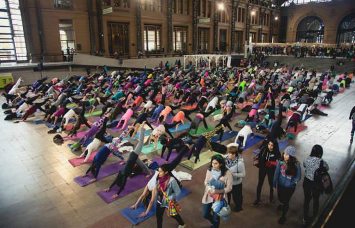 Expo Yoga, una feria para desconectarse sin salir de la ciudad