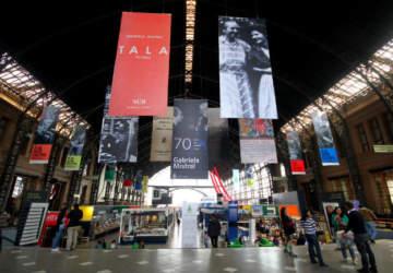 Los 500 panoramas de la Feria Internacional del Libro de Santiago