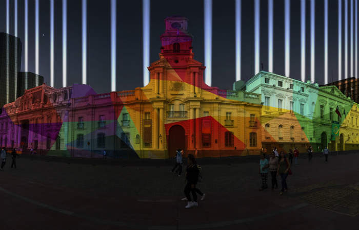 Gratis: La fiesta de la luz que prenderá las noches en el centro de Santiago