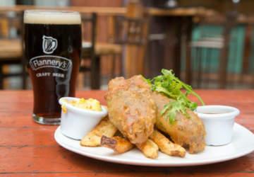 Flannery's Beer House, un bar para comer y tomar como irlandés