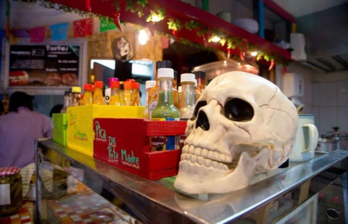Los Chingones, una picada de comida mexicana a pasos de la Alameda