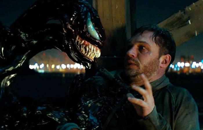 Venom: un sobreactuado Tom Hardy no convence a la crítica