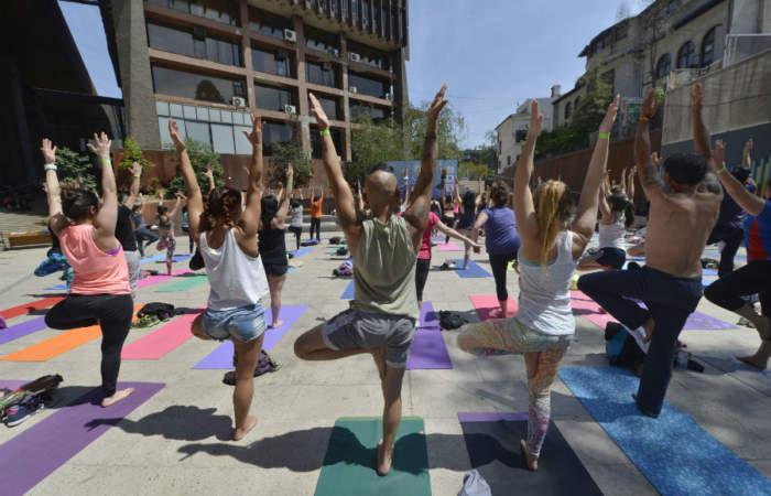 Gratis: dos intensos días de clases de yoga en el GAM