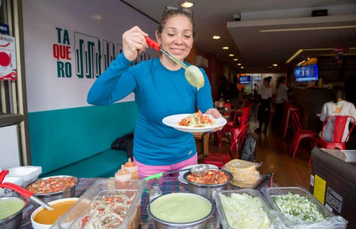El Zócalo: Tacos a luca y durante todo el día