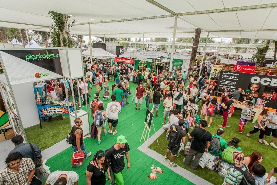 Expoweed 2018: la cultura del cáñamo se toma el Parque O'Higgins