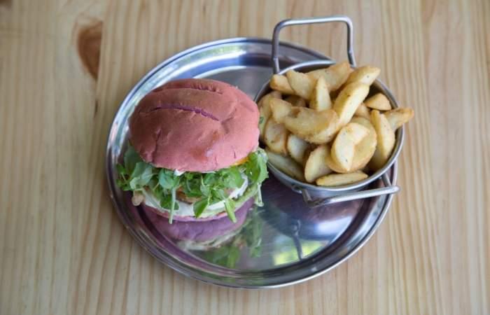 Vurger joint, las nuevas hamburguesas vegetarianas de Providencia