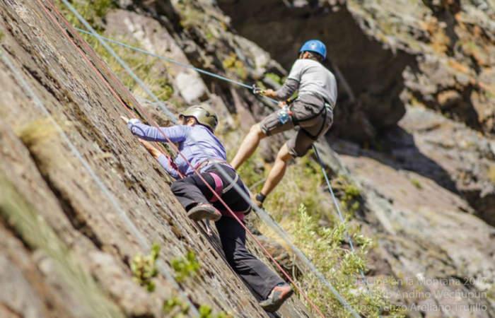 Gratis: un día de escalada, senderismo y cine en el Cajón del Maipo