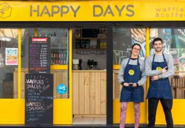 Happy Days Waffles, los waffles pops se toman Bellas Artes