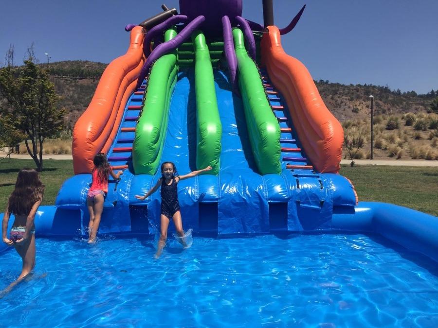 Juegos acuáticos gratis y nueva zona de foodtrucks en Parque Bicentenario