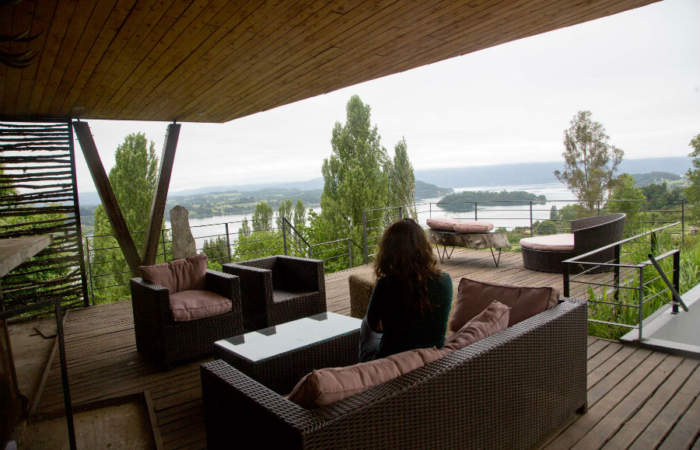 Casa Panguipulli: el hotel con una hermosa vista al volcán Choshuenco