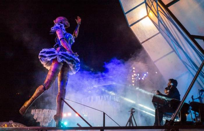 La Bailarina de Santiago a Mil