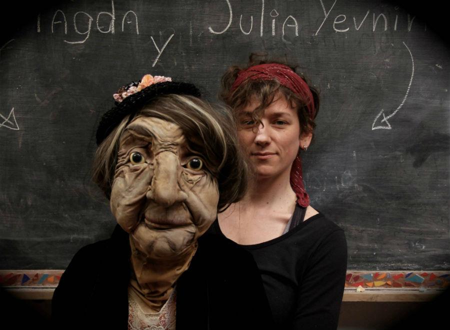 obra Magdalena a one puppet show