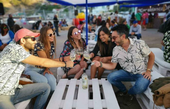 Caleta & Vino, la sabrosa fiesta veraniega en el muelle de Quintay