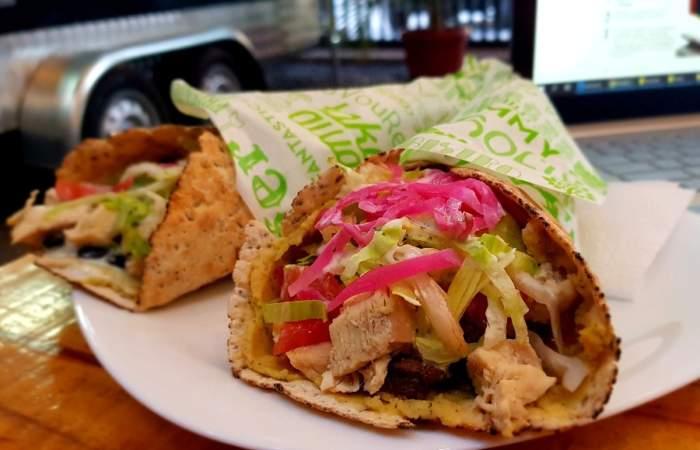 Healthy Lovers: El nuevo shawarma de medio kilo y saludable de barrio Italia