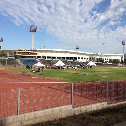 Pista Atlética del Estadio Nacional