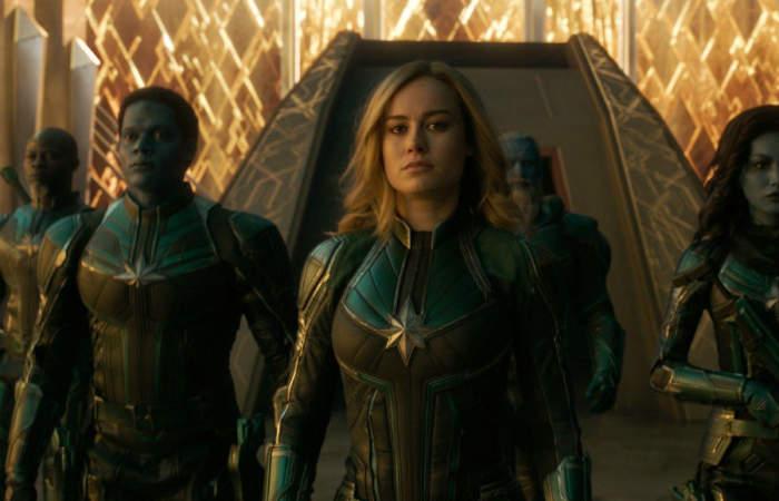 Capitana Marvel: Una entretenida aventura protagonizada por una heroína empoderada