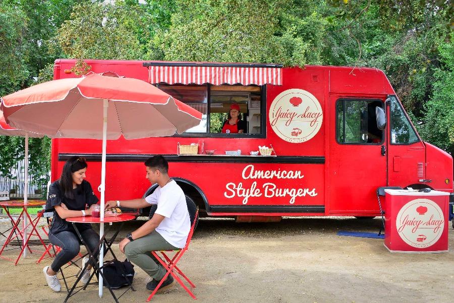 Food trucks en La Reina