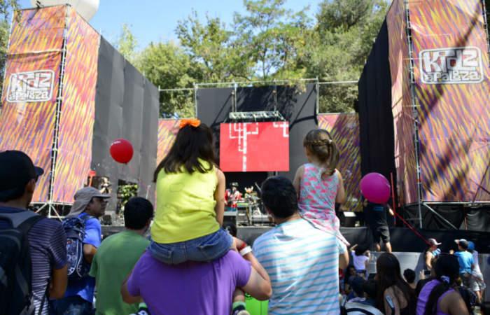 Estas son las bandas que tocarán en Kidzapalooza, el mini festival para los niños
