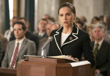 pelicula La Voz de la Igualdad Felicity Jones