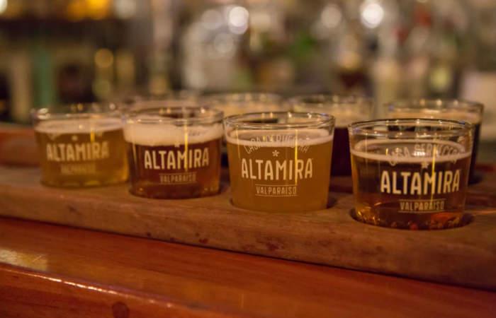 El paraíso de la cerveza está en Valparaíso y se llama Altamira