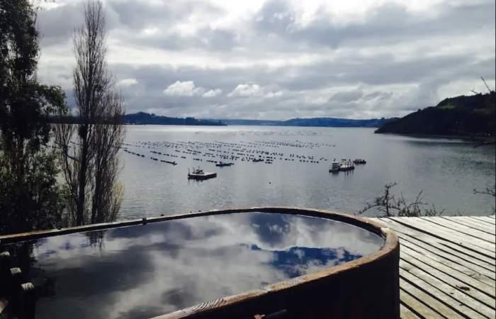 Casa chilota de la Península de Rilán, elegida como una de las mejores en alojamientos Airbnb