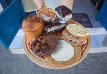 Cosccos Muffin: Un tesoro veggie escondido en Providencia