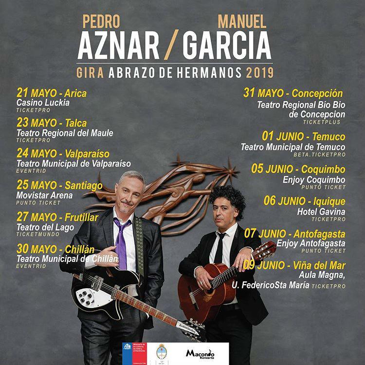 Conciertos Manuel García y Pedro Aznar