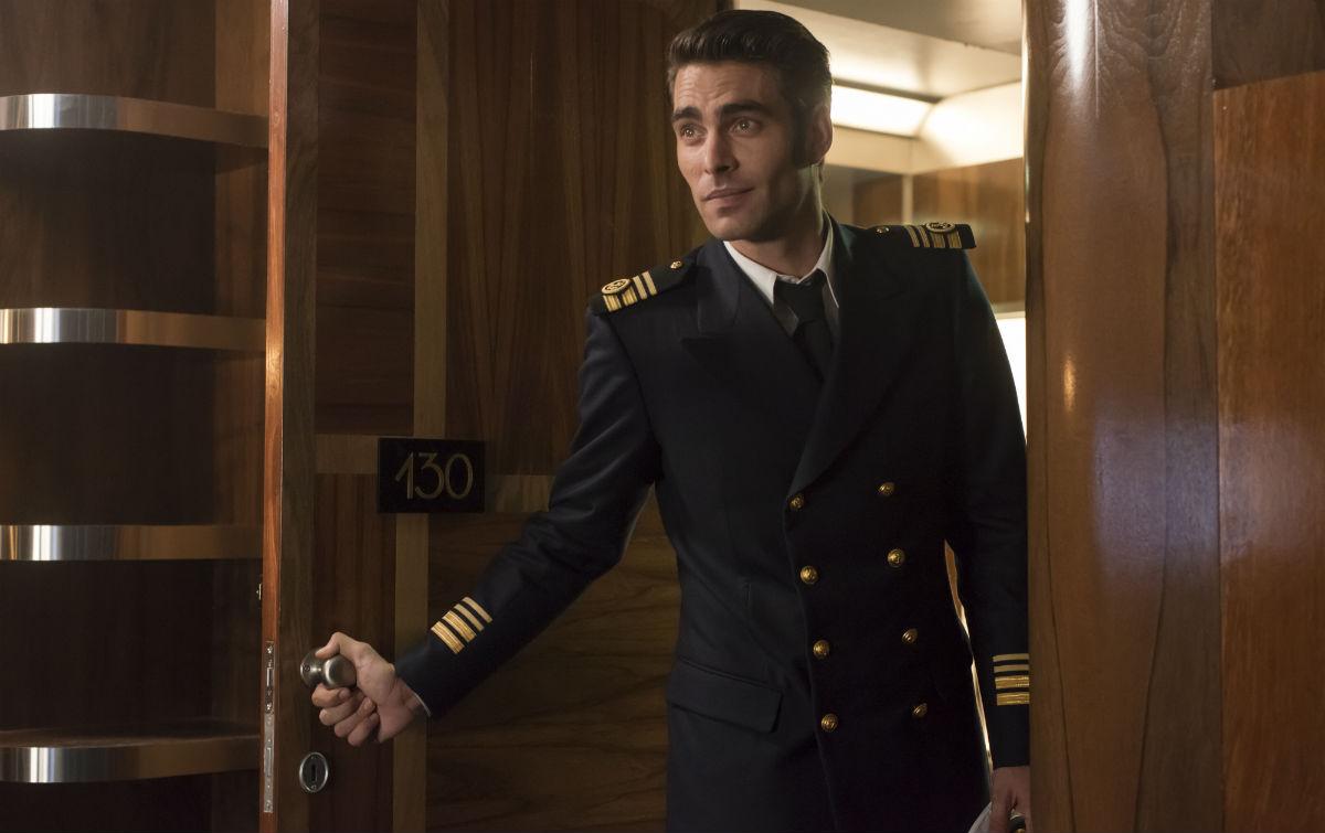 Nicolás Salas (Jon Kortajarena) en Alta Mar | Netflix