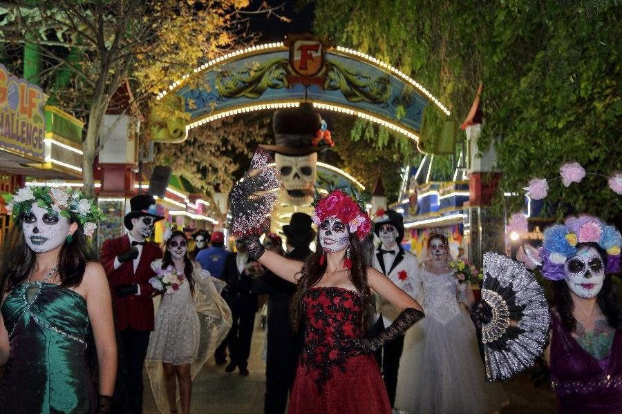 Fantasilandia hará un carnaval de muertos al más puro estilo mexicano