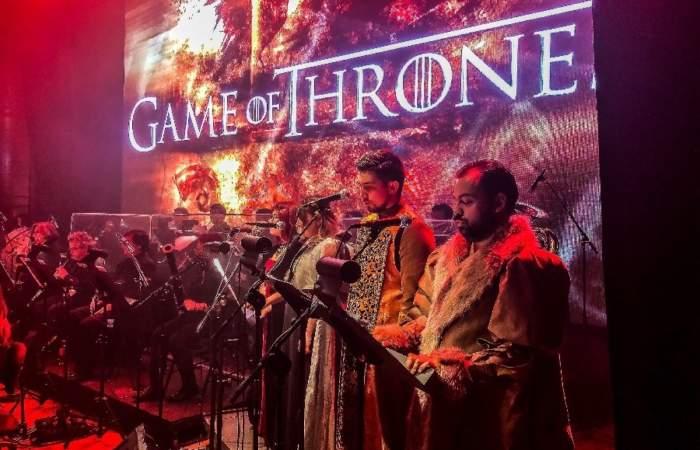 Debuta Game of Thrones Live Concert, un show con imágenes y música de la inolvidable serie