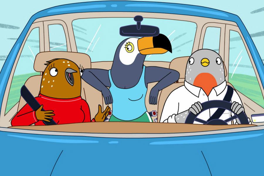 Tuca & Bertie serie Netflix BoJack