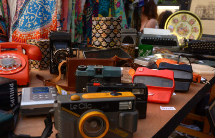 Viva la vintage, la feria ideal para los nostálgicos de los vinilos y las cámaras análogas