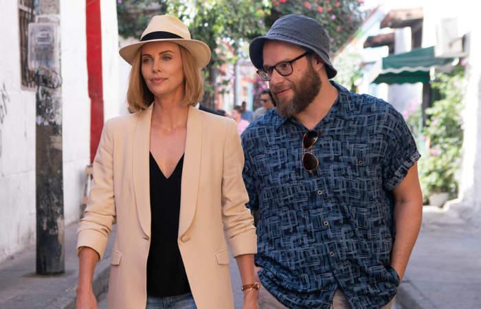 Ni en tus Sueños: La impensada y efectiva química entre Seth Rogen y Charlize Theron