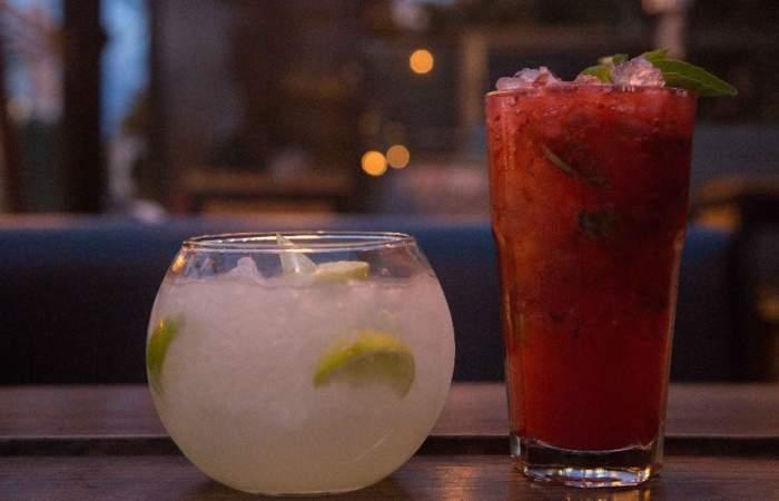 Red Frog: el bar donde los cocteles se sirven en peceras de medio litro