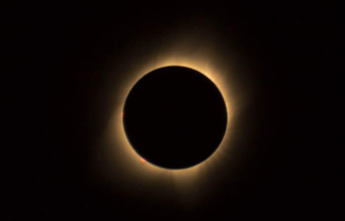 Eclipse en Planetario