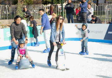 patinaje en hielo en Santiago