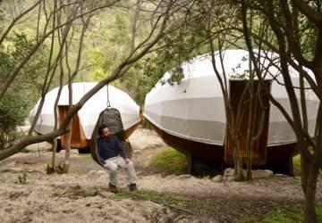 Biósfera Lodge: un camping de lujo con canopy y escalada en el Parque La Campana