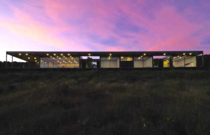 Alucinarás con esta casa con una hermosa vista a los fiordos chilotes y que encontrarás en Airbnb