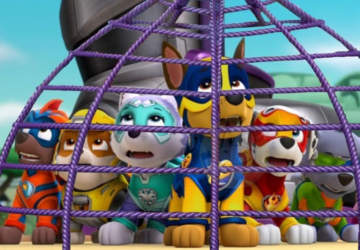 Paw Patrol: Mighty Pups: Aventuras solo para preescolares