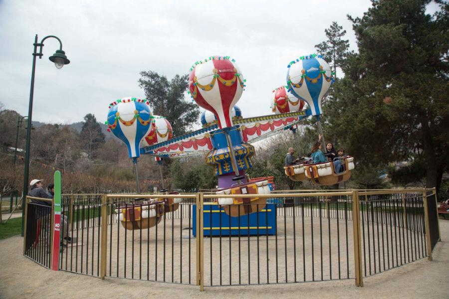 Parque Las Rosas.