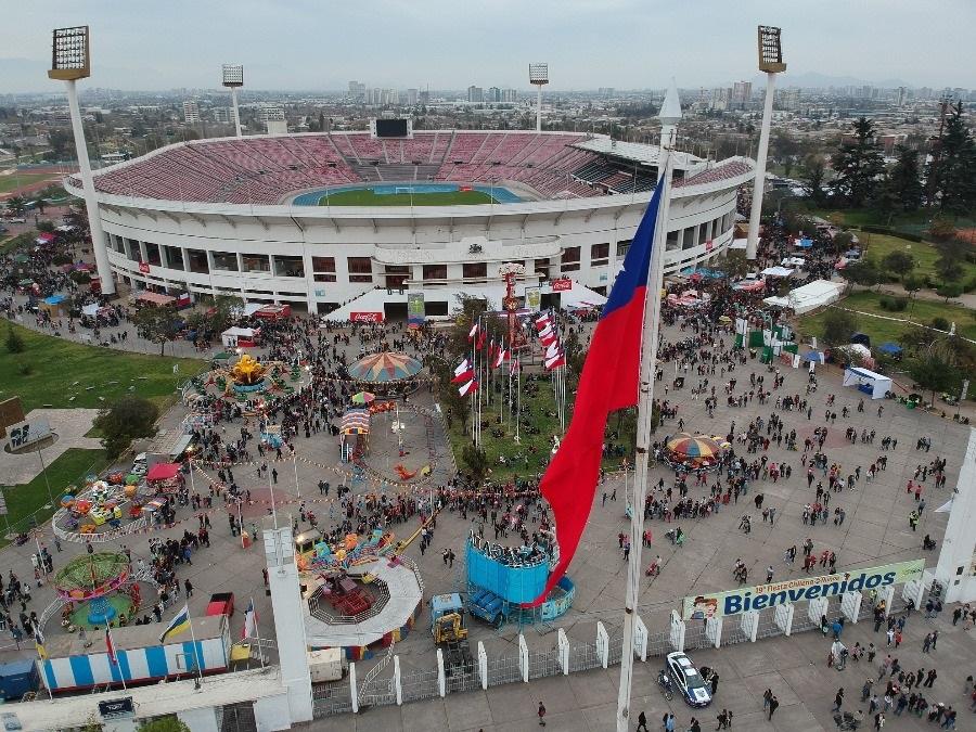 La Fonda del Estadio Nacional vuelve con seis días de entretención y tradiciones familiares