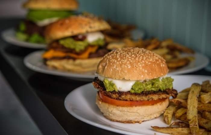 La Inclusiva, una hamburguesería