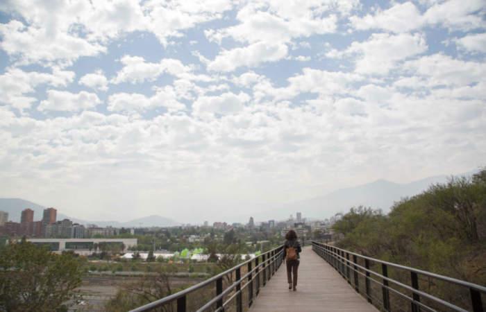 Accesible y con vistas a la ciudad, así es el nuevo sendero del Parque Metropolitano