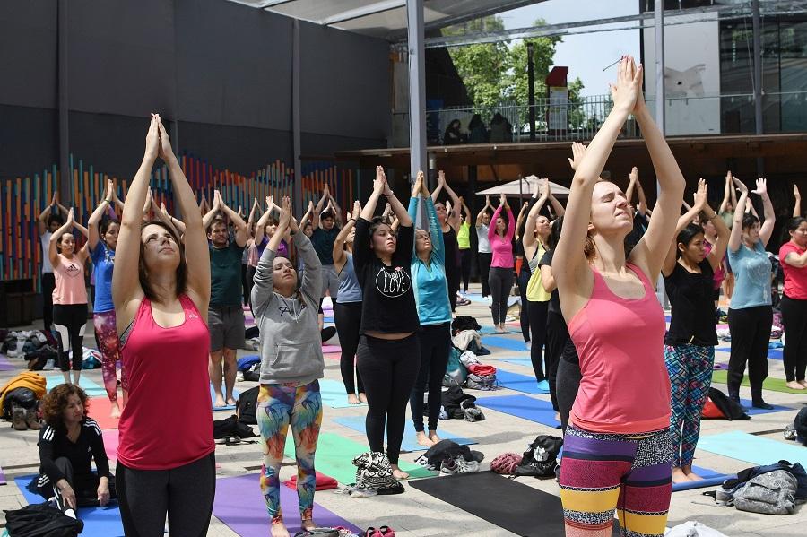 Clases, talleres y charlas gratis tendrá Vivo Yoga 2019 en el GAM