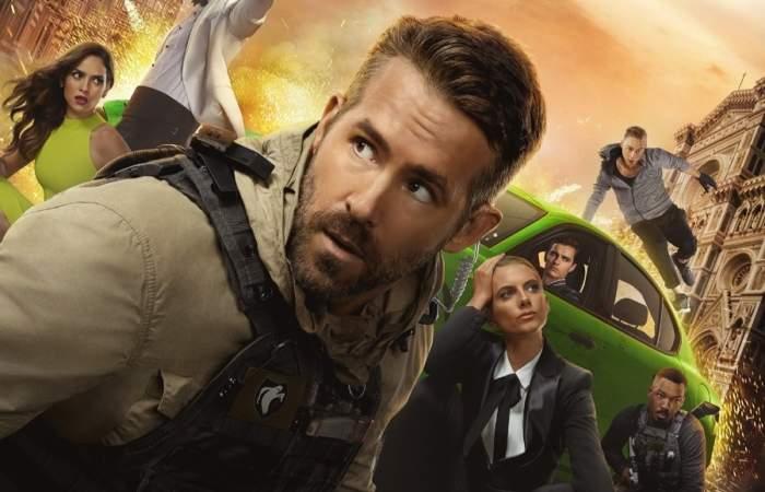 Netflix estrena nuevo trailer de Escuadrón 6, filme de acción con Ryan Reynolds