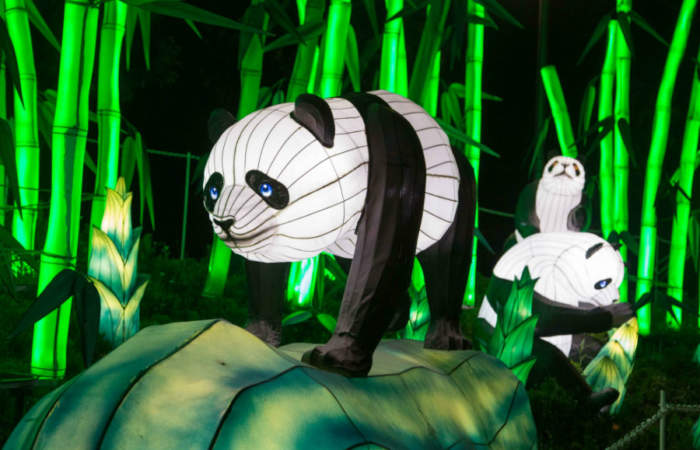 Últimos días para visitar Fesiluz, el impresionante festival de luces chinas