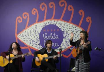 Cantando se van las penas, el recital gratuito que se hará en el museo Violeta Parra